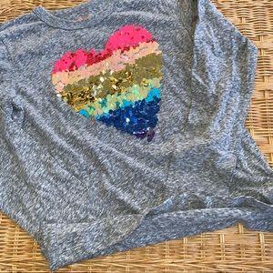 12 Girls Crewcuts Lightweight Sweatshirt